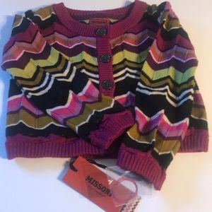Missoni NEW w/tags Infant 18-24 month sweater